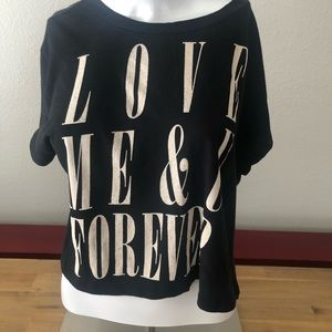 """Lush """"Love Me & You Forever"""" Top - Small"""